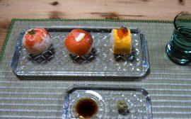 コロンと可愛らしい人気メニュー 手まり寿司