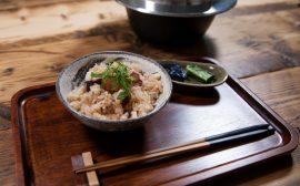 シンプルな材料と味付けで上品な美味しさ!蛸飯