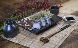 """うつわの世界~秋刀魚寿司 しっとりとした""""和""""のコーディネート~"""