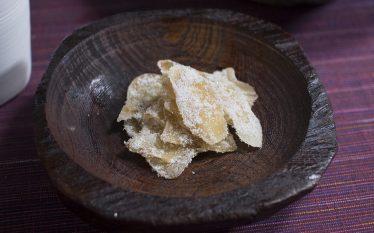 ピリッと辛くてほんのり甘い大人のおつまみ 生姜の砂糖漬け