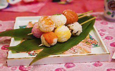 パーティーのお料理にオススメ!ミニ手鞠だんご寿司