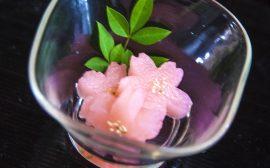食卓にも春の花を咲かせましょう! 桜長芋