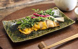 カラフル&栄養満点! 鰆の菜種焼き