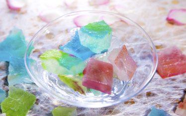 まるで宝石みたいな砂糖菓子!琥珀糖