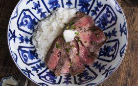 贅沢に肉を愉しめる!ステーキ丼