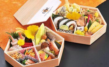 【たっぷりサイズの六角形のお弁当「錦(にしき)」】