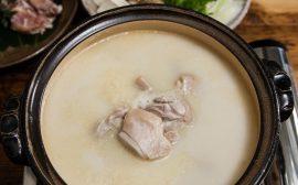 栄養たっぷりのあたたかーいお鍋 鶏の水炊き