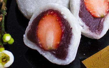 日本で人気の和菓子 いちご大福
