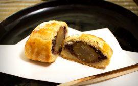 サクサク食感の和菓子 つぶあんパイ包み