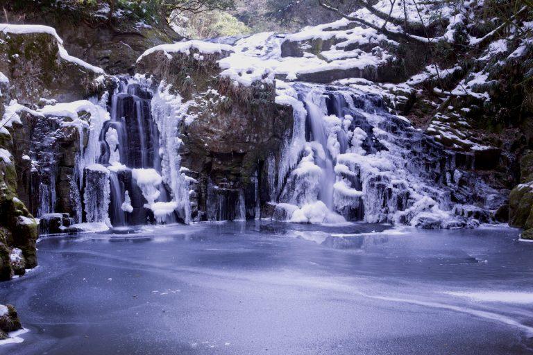 赤目四十八滝の冬