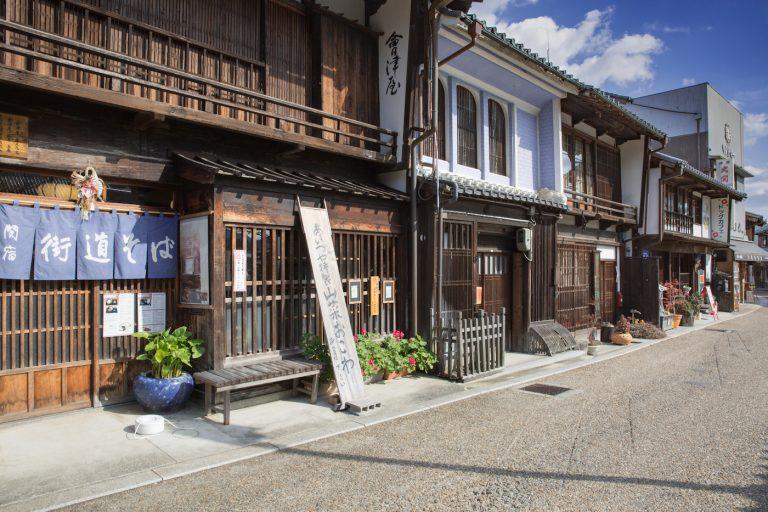関宿 東海道五十三次